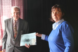 Eamon Carpenter with Geraldine Gilsenan and Tapestry Book - Available at Easons, O'Connell Street and SIPTU Communications, Liberty Hall, Dublin 1