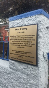 Sean O'Casey Plaque