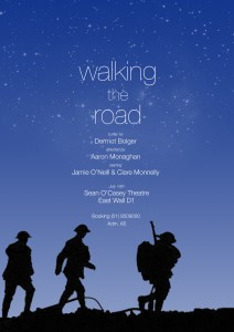 walking the road-blue-SOCposter